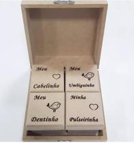 Lembrancinhas Caixa Bebe Recordações Simples Mdf Cru - ART BRUTO