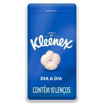 Lenço de Papel de Bolso Kleenex Dia a Dia Cores Sortidas 10 Unidades -