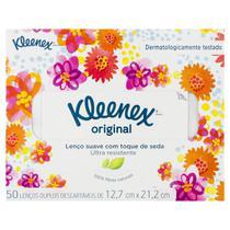 Lenço de Papel Kleenex 50 Unidades -