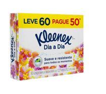 Lenço de Papel Kleenex Box Leve60 Pague50 com 6 Caixas -