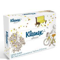 Lenco de papel kleenex com 50 folhas - PERFUMARIA