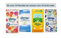 Lenço de Papel Kleenex de Bolso 12 pacotes de 10 Folhas - Kimberly Clark Brasil