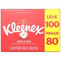 Lenço de Papel Kleenex Fac Classic Box Leve100 Pague80 -