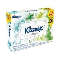 Lenco de papel kleenex leve 60, pague 50 - PERFUMARIA
