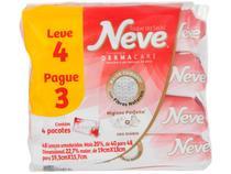 Lenço de Papel Umedecido Neve Toque de Seda - 4 Pacotes com 48 Unidades