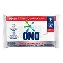 Lenço Umedecido Desinfetante Omo Limpeza Perfeita 20 Unidades -