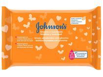 Lenço Umedecido Johnsons Baby - Limpeza e Suavidade 44 Unidades
