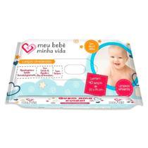 Lenço Umedecido Meu Bebê Minha Vida 40 Unidades - Meu Bebe Minha Vida