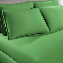 Lençol Avulso Malha Solteiro C/Elástico Portallar Linha Toccare verde Iris -
