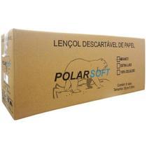 Lençol Hospitalar de Papel Polar 70 cm x 50 m - Caixa c/ 6 Unidades -