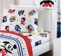 9fd7188486 Lençol Infantil - C  Elástico - Mickey Play - Santista -