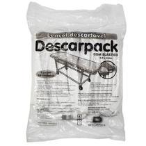 Lençol para Maca Descartável com Elástico - Descarpack -