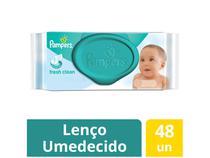 Lenços Umedecidos Pampers Cheirinho de Bebê - 48 Unidades