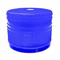 Lente Acrílica para Sinalizador Visual Azul - DNI 4084Az -