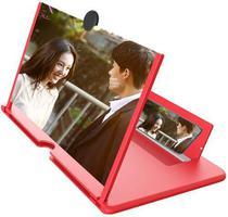 Lente Ampliar Tela De Celular Aumento 3d Suporte Zoom Portat - GLASS