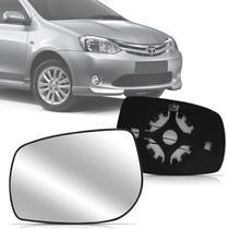 Lente Base Retrovisor Toyota Etios 2012 2013 2014 12 13 14 - Blawer