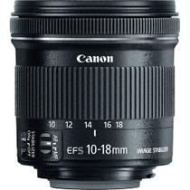 Lente Canon EF-S 10-18mm f/4.5-5.6 IS STM -