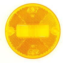 Lente da lanterna lateral amarelo 85mm da lanterna PL0564 - PRADOLUX
