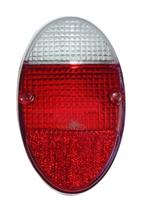 Lente da lanterna traseira fusca 1200 1300 rubi e cristal - Indcar
