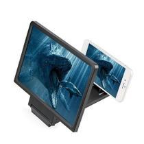 Lente De Aumento Tela 3d Suporte Ampliadora F1 Zoom Celular - Top Total