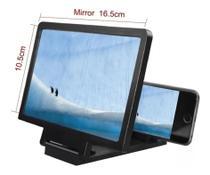 Lente De Aumento Tela 3d Suporte Ampliadora Zoom Celular F1 -