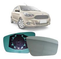 Lente Espelho Retrovisor Ford Ka 2015 a 2018 Lado Direito (Passageiro) - Blawer
