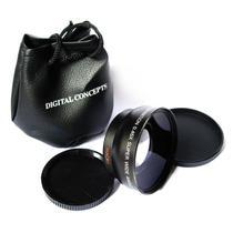 Lente Grande Angular + Macro p/ Nikon 18-55mm - Linxing optics co