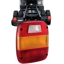 Lente lanterna traseira caminhão vw / ford até 2010 - PRADOLUX