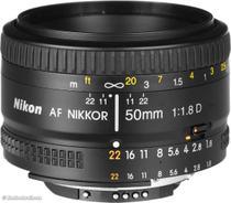 Lente Nikon 50mm f/1.8D AF Nikkor -