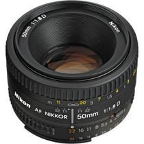 Lente Nikon AF 50mm f/1.8D -