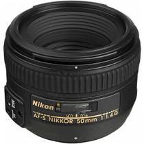 Lente Nikon AF-S FX NIKKOR 50mm f/1.4G -