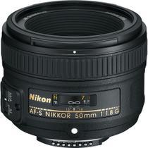 Lente Nikon AF-S FX NIKKOR 50mm f/1.8G -
