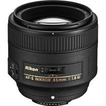 Lente Nikon AF-S FX NIKKOR 85mm f/1.8G -