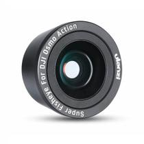 Lente Olho de Peixe / Fisheye 180º para DJI Osmo Action - Ulanzi -