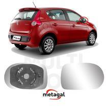 Lente Retrovisor Direito com Encaixe Fiat Palio 2011 - Metagal
