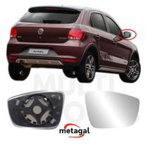 Lente Retrovisor Direito Vw Gol G6 G7 2012 2015 2018 2021 - Metagal