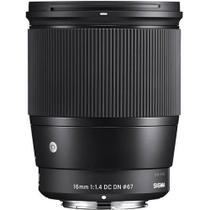 Lente Sigma 16mm f/1.4 DC DN Contemporânea Sony E-Mount -