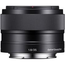 Lente Sony E 35mm f/1.8 OSS E-Mount (SEL35F18) -