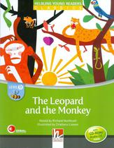 Leopard and the monkey with cd rom and audio cd - level b - Disal editora -
