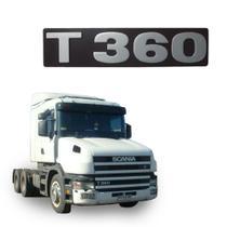 Letreiro Frontal T360 Scania S4 T codigo 1724048 - Globo