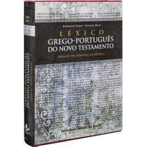 Léxico Grego-Português do Novo Testamento - Sbb -