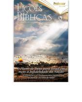 Lição Bíblica Adulto Professor 3ºT 2021 -