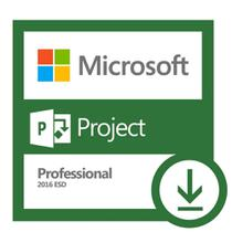 Licença Microsoft Office Project Professional 2016 Esd Fpp- Mídia Digital