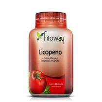 Licopeno  - 60 Cápsulas - Fitoway -