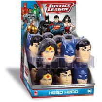 Liga Da Justiça Herói Head Cabeça Surpresa Dtc Ref.4382 -