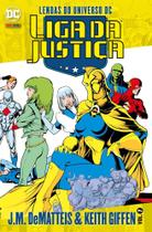 Liga da Justiça J.M. DeMatteis & Keith Giffen -Vol. 07 - Len - DC Comics