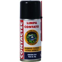 Limpa Contato Aerossol 130g 210ml Contactec IMPLASTEC - CR: 2(2.2) - NR: 20 - GE: NA - ONU 1950 -