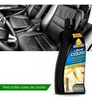 Limpa E Hidrata Couro Automotivo Todas Cores Autoshine 200ml -