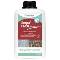 Limpa Fácil Eflorescência Remoção de Deposito de Cal 1 litro - Performance Eco -