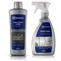 Limpa Forno e Grill Electrolux + Limpa Inox Líquido com Secagem Rápida -